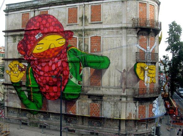 Street art graffiti tour lisboa