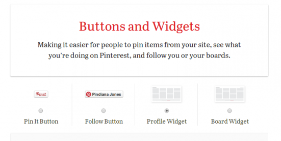 Pinterest buttons-and-widgets