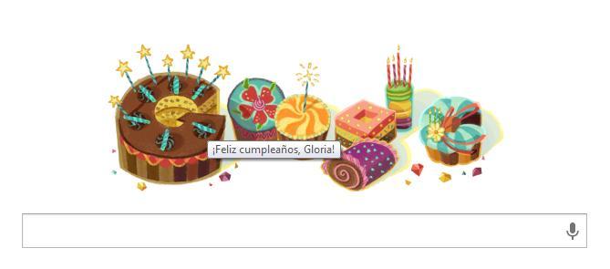 Doodle felicitación de cumpleaños