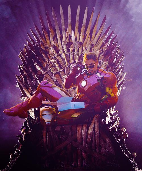 Tony Stark Juego de Tronos