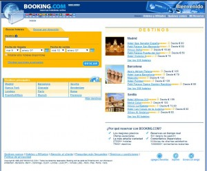 home booking 2007