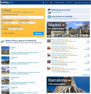 home booking 2013