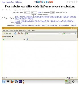 InfoByIP - test de resoluciones