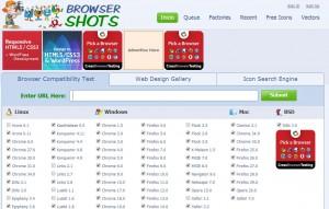 BrowserShots - test en navegadores